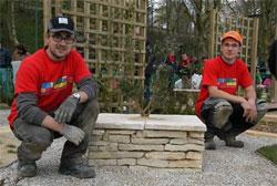 Quentin Rose et Frédéric Grégoris, jardiniers-paysagistes vainqueurs des Olympiades des Métiers en Île-de-France