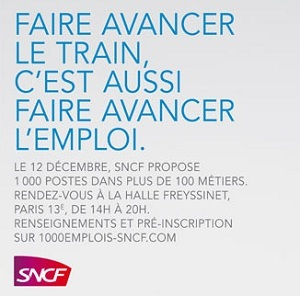 La SNCF annonce 10 000 embauches en 2012