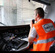 Europorte, filiale de fret ferroviaire d'Eurotunnel.