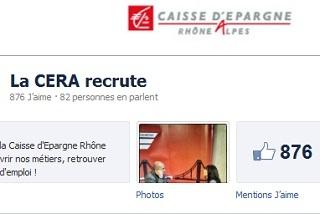 La Caisse d'Epargne Rhône-Alpes recrute des jeunes diplômés