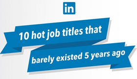 Dix nouveaux métiers selon LinkedIn