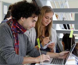 Etudiants de l'IIM.