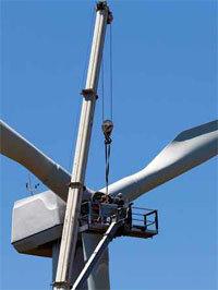 Energie éolienne : de nouvelles formations pour la maintenance des parcs