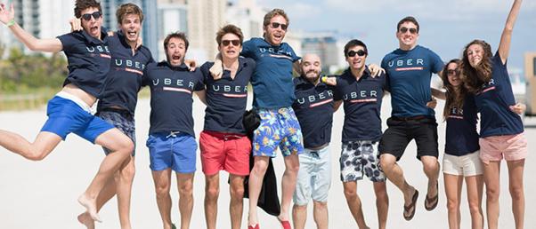 Uber France joue à fond la carte startup pour séduire de nouveaux talents.