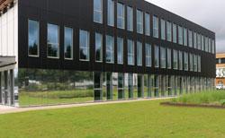 Le CERC de Natixis Assurances, dans le parc scientifique européen de la Haute Borne à Villeneuve d'Ascq.
