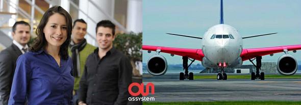Visuel de la campagne de recrutement d'Assystem.