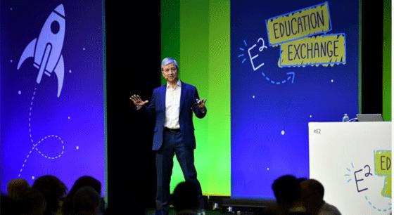 Jean-Philippe Courtois (Microsoft) présente la nouvelle formation en IA.