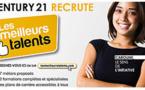 Century 21 poursuit les recrutements dans toute la France