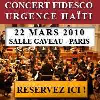 Un concert pour une école à Haïti !