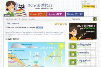 Mon instit.fr, un site éducatif sympat !