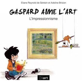 Gaspard aime l'art.