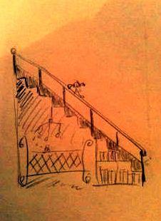 """Les premières nuits """"à ma maison"""", ou comment j'ai atterri sous l'escalier."""