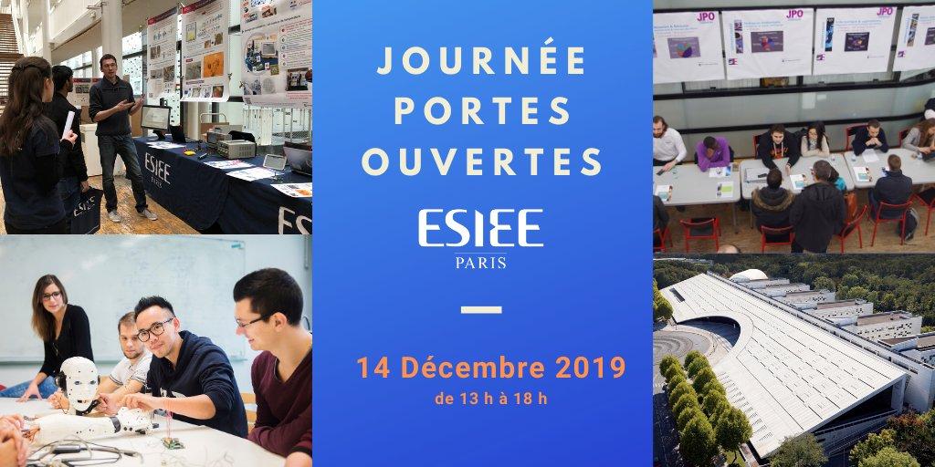 Bien choisir son école, c'est aussi la rencontrer ! Samedi 14 décembre 2019 de 13 h à 18 h sur le site de Noisy-le-Grand, ESIEE Paris* invite les futurs étudiants et leurs parents à des rencontres et des échanges avec les enseignants-chercheurs, les étudi