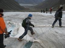 Expédition en terre arctique