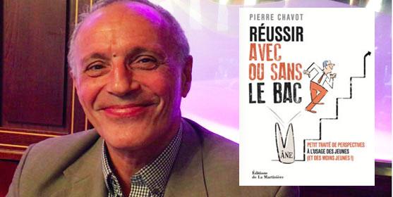 """Pierre Chavot, auteur de """"Réussir avec ou sans le bac"""". Photo : reussirmavie.net"""