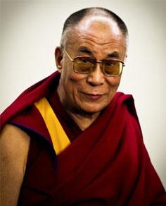 Le 14ème Dalaï Lama. Crédit Photo : wikimédia