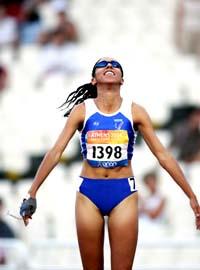 Assia El-Hannouni victorieuse en 2004