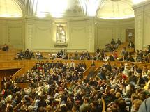 L'amphithéâtre Richelieu à la Sorbonne
