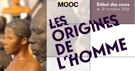 Lancement d'un MOOC sur les origines de l'Homme