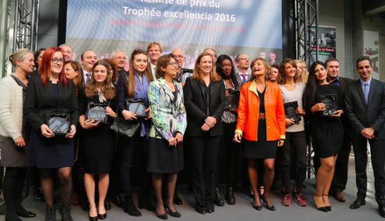 Les lauréates du Prix Excellencia 2016