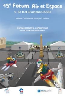 Des avions de légende sur les Champs Elysées