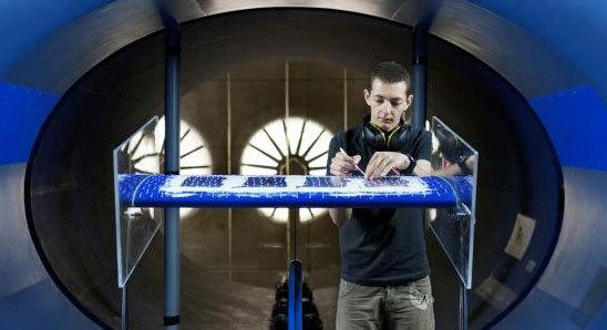 Un élève ingénieur de l'ISAE. Photo : ISAE / Aude Lemarchand