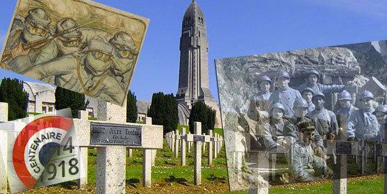 Images : Wikimedia, Historial de Péronne, et centenaire.org