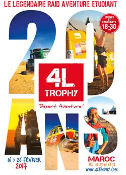 4L Trophy 2017 : le rallye humanitaire étudiant fête ses 20 ans