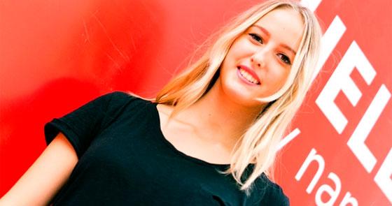 Charlotte Stebel prépare un mastère de communication digitale à lIIM en alternance. ® Droits réservés