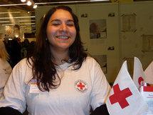 Pascale, 26 ans, bénévole à la Croix Rouge française