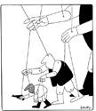 Un dessin exposé à Genève, du Grec Kostas Mitrooulos