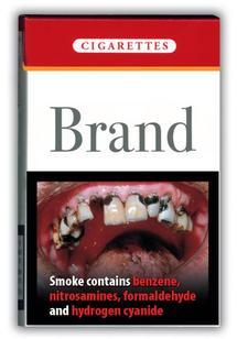 Bientôt des photos choc sur les paquets de cigarettes ?