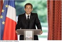 Sarkozy annonce des mesures de sécurité à l'entrée des lycées