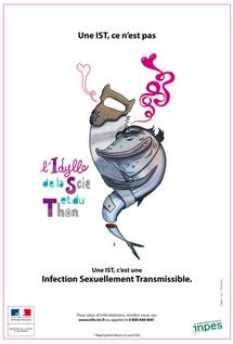 Une campagne sur les infections sexuellement transmissibles ou IST