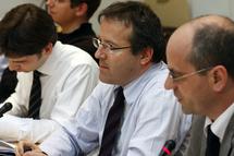 Martin Hirsch, à la 3ème réunion plénière de concertation