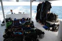 Notre matériel sur le bateau