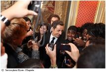 Nicolas Sarkozy a dévoilé la réforme au lycée Samuel de Chaplain de Chennevières-sur-Marne (Val-de-Marne).