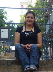 La jeune aide-soignante libanaise dans les rues de Beyrouth