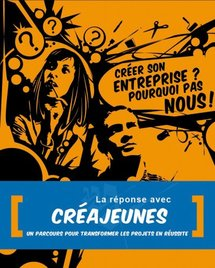 Affiche créée par un jeune graphiste qui a monté son entreprise grâce à CréaJeunes
