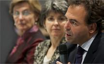 Luc Chatel présente la réforme à Strasbourg (CRDP Strasbourg / P. Kessler)