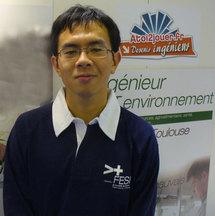 Xiong, futur ingénieur environnement