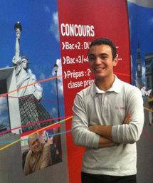 Adrien, en école de commerce option tourisme
