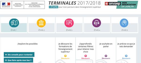 Orientation postbac : l'Onisep lance un site pour les lycéens de terminale