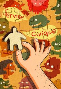 Ce dessin de Clémence Germain, jeune auteur de BD, a remporté le prix ''Un dessin pour un engagement citoyen''.