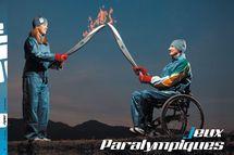 Comme pour les JO, les jeux paralympiques ont leur flamme, portée par des sportifs handicapés ou ceux qui les soutiennent.