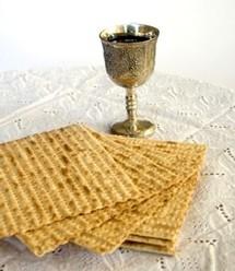 Les pains azymes (sans levain) du repas du seder, qui ouvre la Pâque juive.