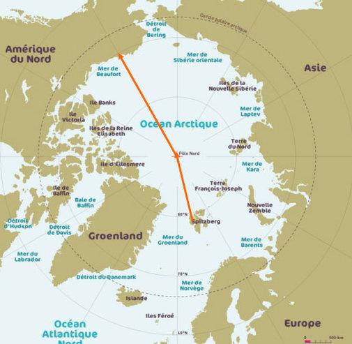 Jean-Louis Etienne tente la traversée de l'Arctique en ballon