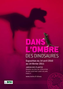 Dans l'ombre des dinosaures : grande expo au Museum national d'histoire naturelle