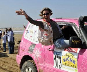Photos du 20ème Rallye Aïcha des Gazelles, du 13 au 27 mars 2010 / copyright : Maïenga