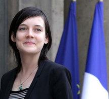Clotilde Reiss, enfin libre. Photos: Elysée